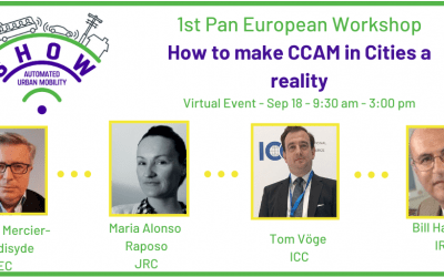 """SHOW successfully holds first pan-European Workshop  """"How to make CCAM in Cities a reality?"""""""