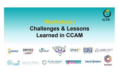 SHOW at ICTR2021: a key workshop on CCAM