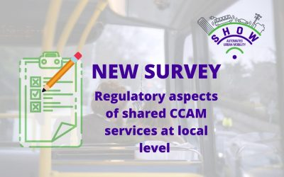 New survey on regulatory aspects of shared CCAM services at local level – contribute now!