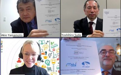 SHOW broadens international collaboration and signs MoU with ITS Japan and UTMobI